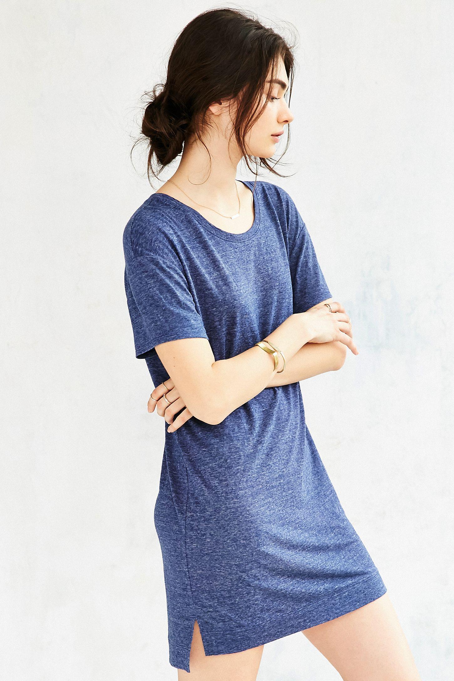 Bdg Estelle Boyfriend T Shirt Dress Urban Outfitters