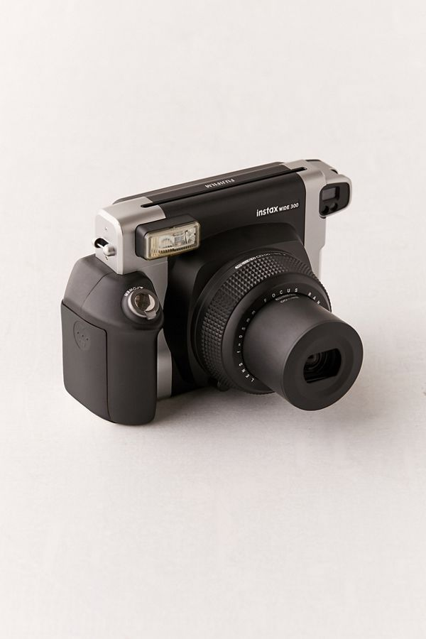 fujifilm instax wide 300 instant camera black urban outfitters. Black Bedroom Furniture Sets. Home Design Ideas