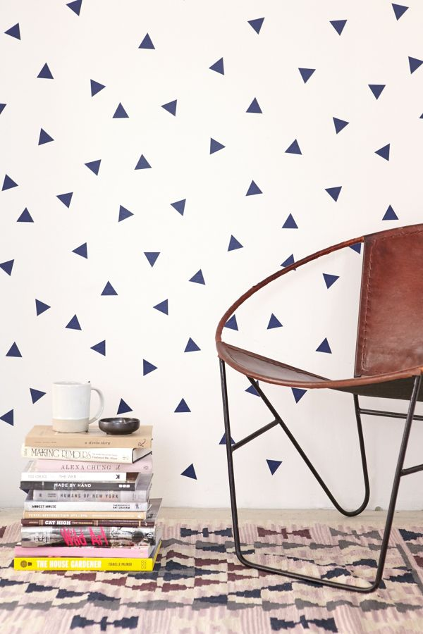 Walls need love triangle decal set urban outfitters slide view 1 walls need love triangle decal set gumiabroncs Images
