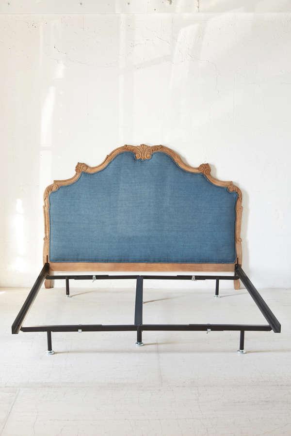 slide view 1 basic metal bed frame - Basic Bed Frame