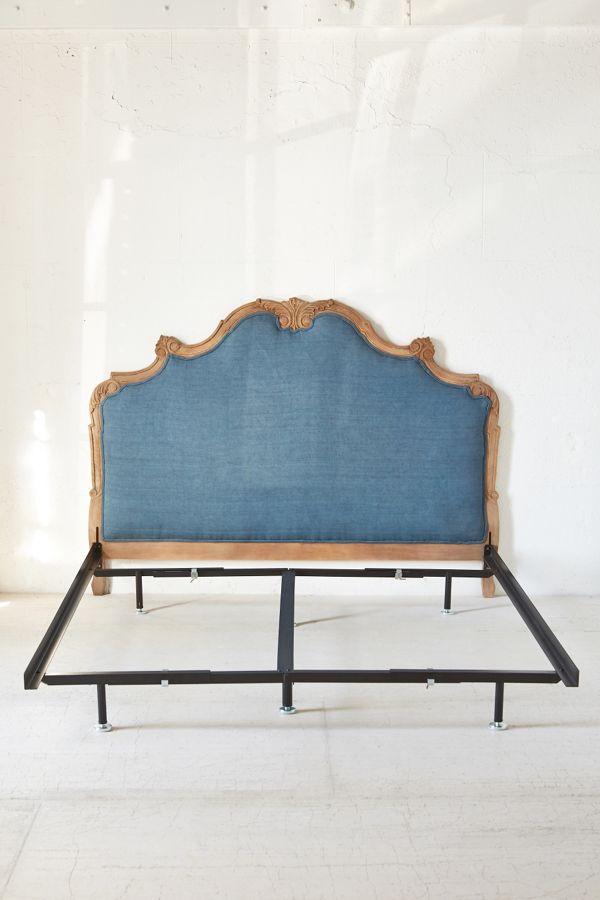 Slide View 1 Basic Metal Bed Frame