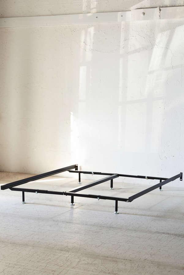 slide view 3 basic metal bed frame - Basic Bed Frame