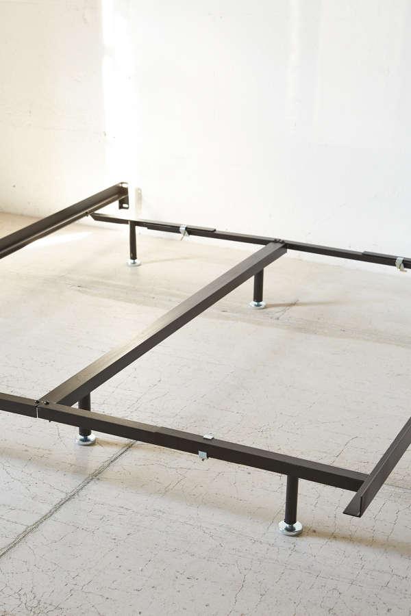 slide view 4 basic metal bed frame - Basic Bed Frame