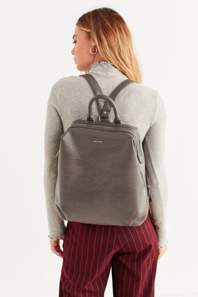 Matt & Nat Vignelli Backpack - Dark Grey One Size at Urban Outfitters