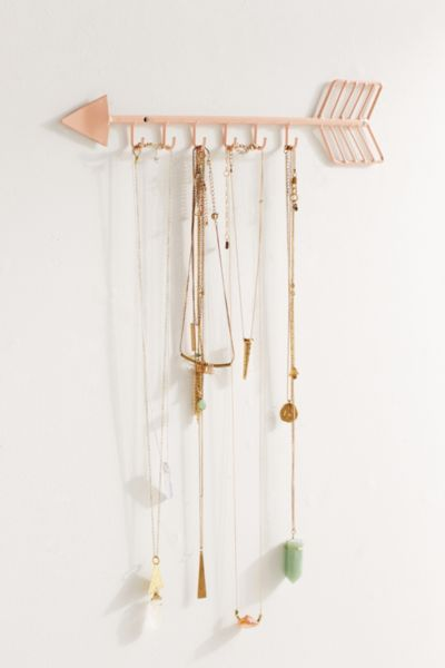 Arrow Necklace Organizer Urban Outfitters