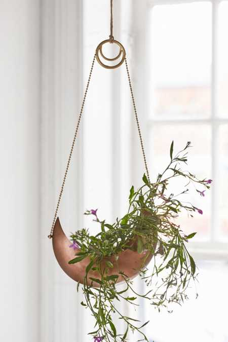 Slide View: 1: Magical Thinking Crescent Hanging Planter