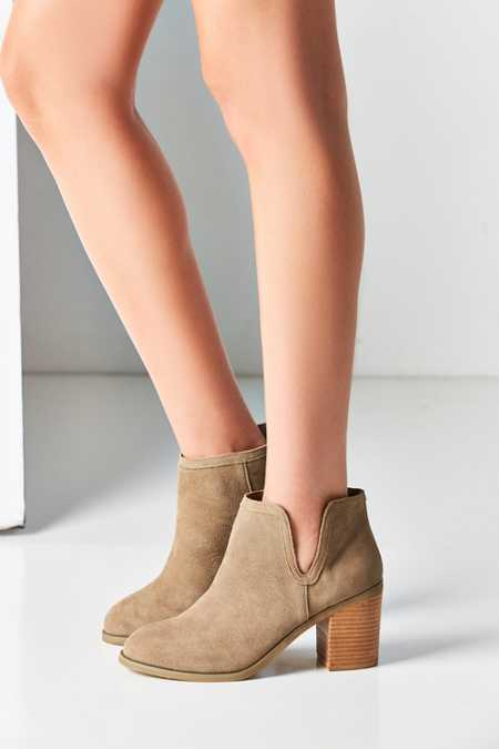 Maude Suede Ankle Boot