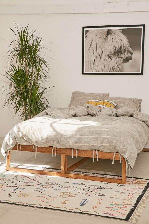 morey platform bed urban outfitters. Black Bedroom Furniture Sets. Home Design Ideas
