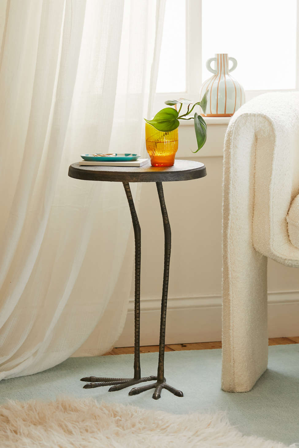 Side Wall Table birdy side table | urban outfitters