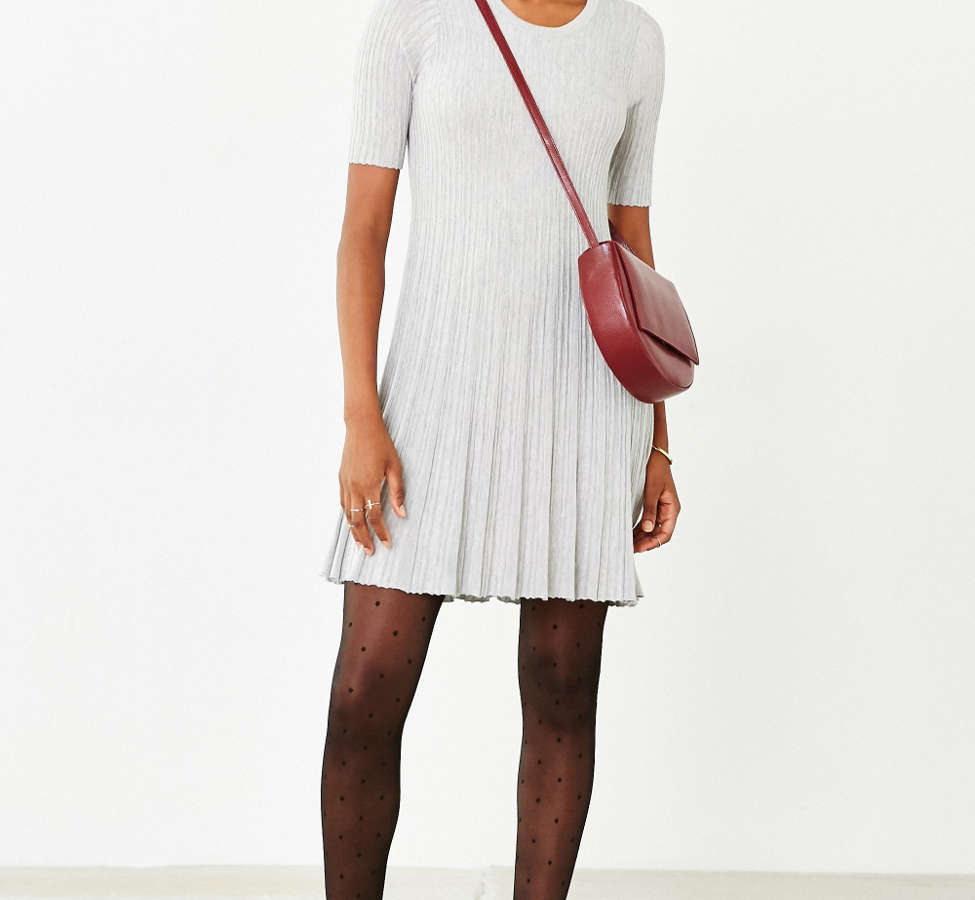 Slide View: 2: Cooperative Grace Swingy Sweater Dress