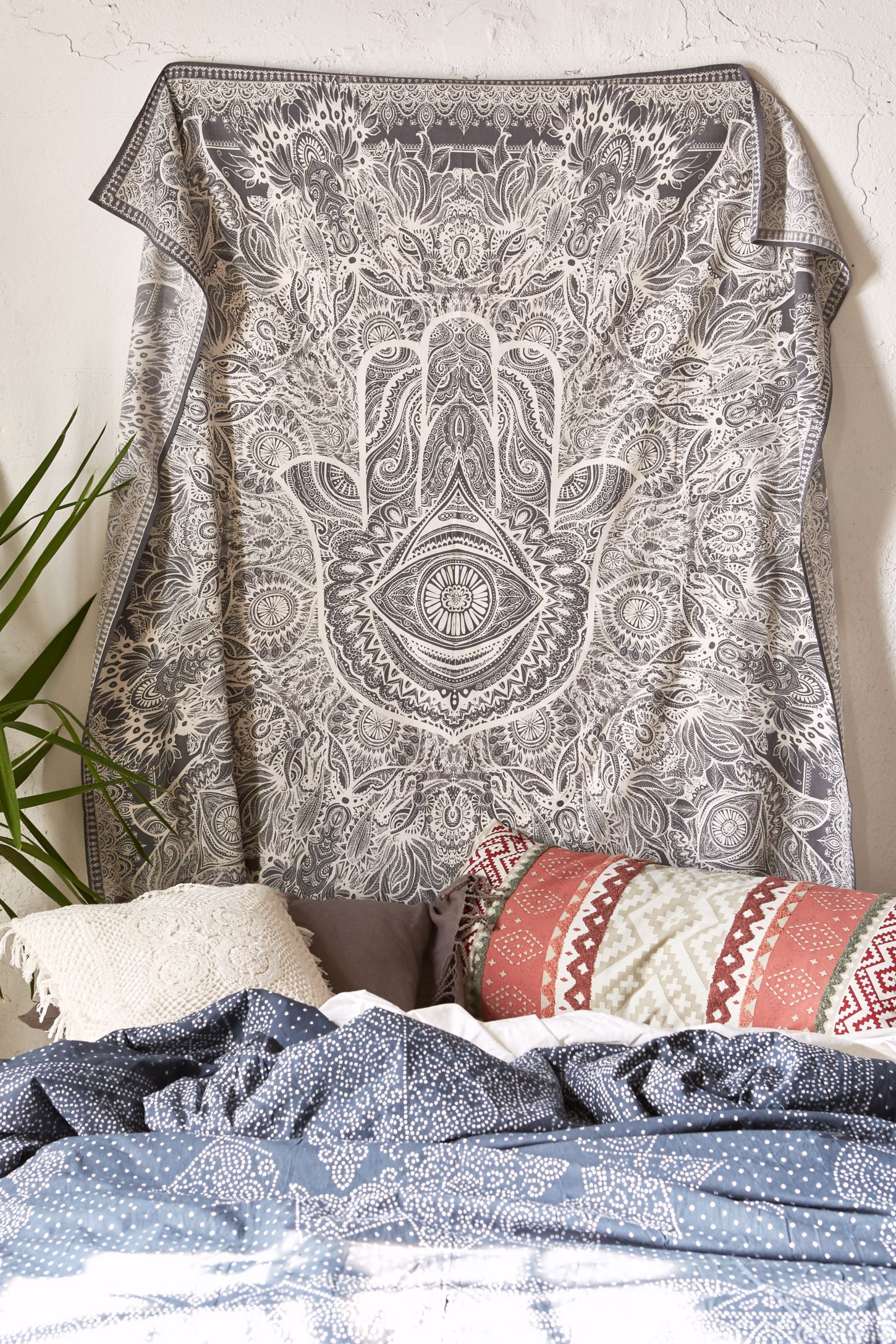 sketched hand tapestry urban outfitters