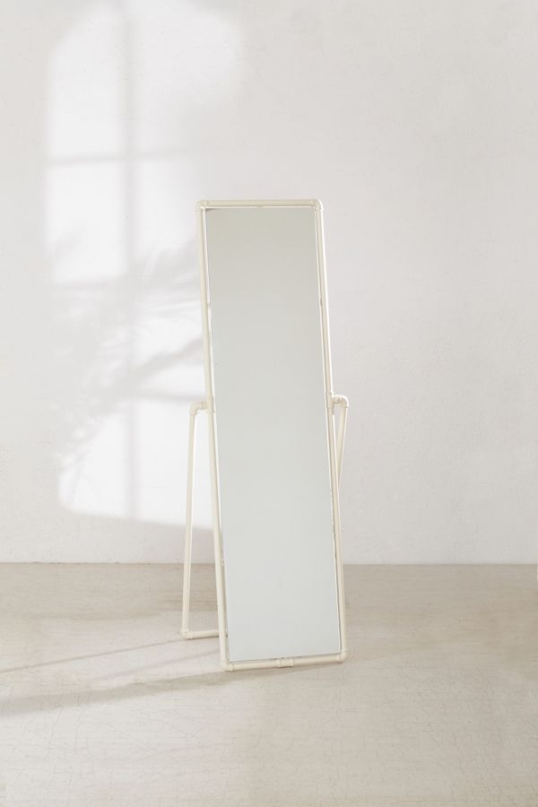 Pipe Standing Mirror Urban Outfitters