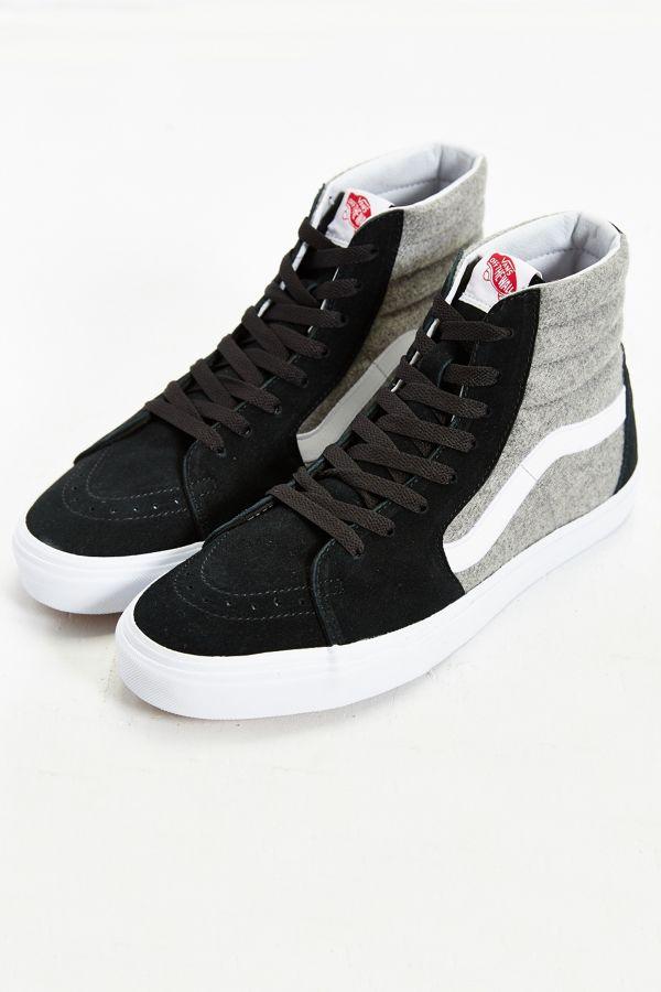 eec491ceb59 Vans Sk8-Hi Wool Sneaker