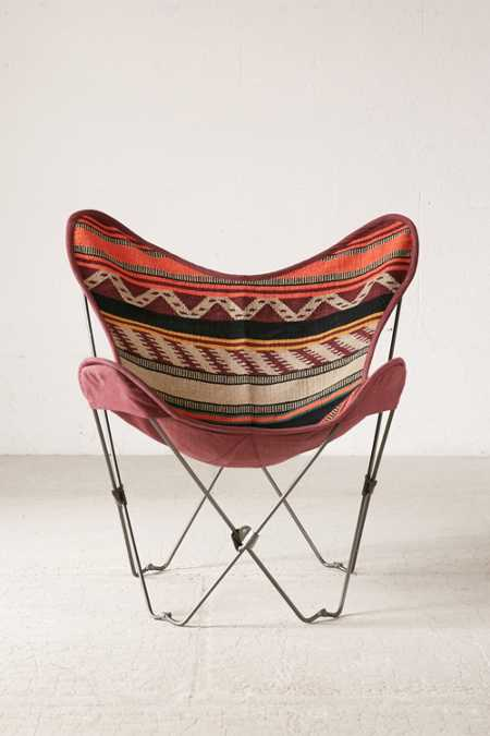 Slide View: 2: Bobo Kilim Butterfly Chair Cover