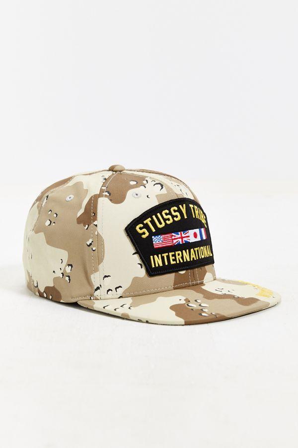 Stussy Camo Snapback Hat  099af77c610
