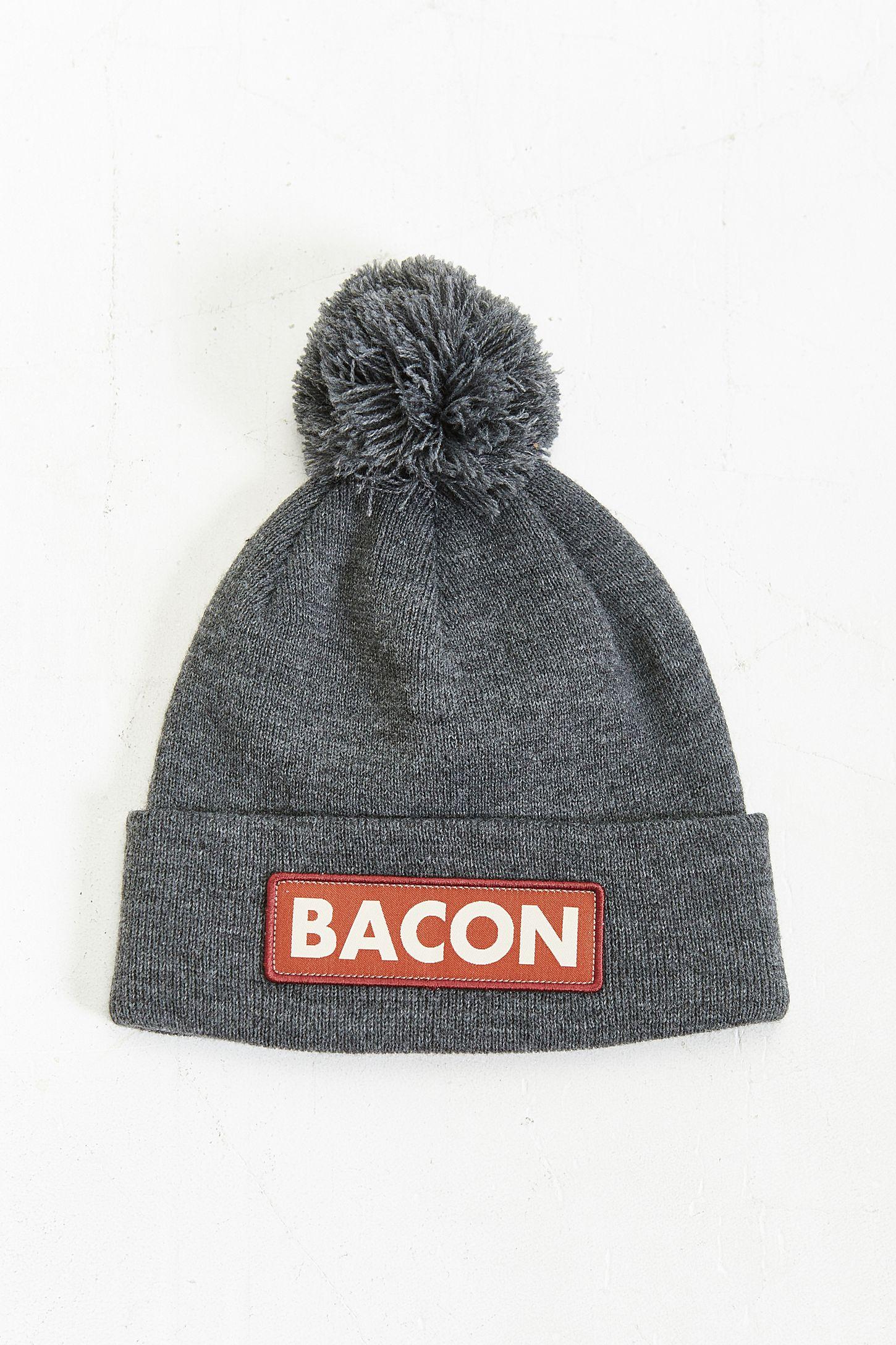 Coal The Vice Bacon Pom Beanie  cd4891eafa9