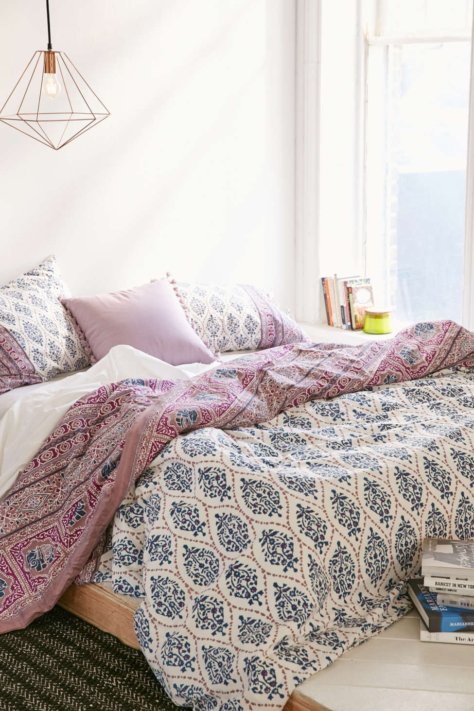 Plum & Bow Sofia Block Duvet Cover | Urban Outfitters
