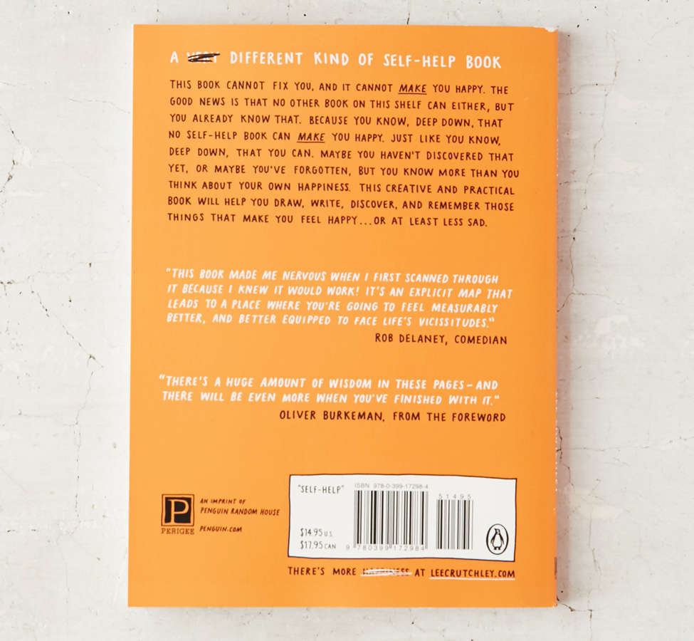Slide View: 3: How To Be Happy (Or At Least Less Sad): A Creative Workbook By Lee Crutchley