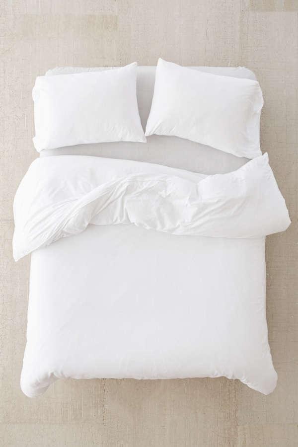 T-Shirt Jersey Comforter - White