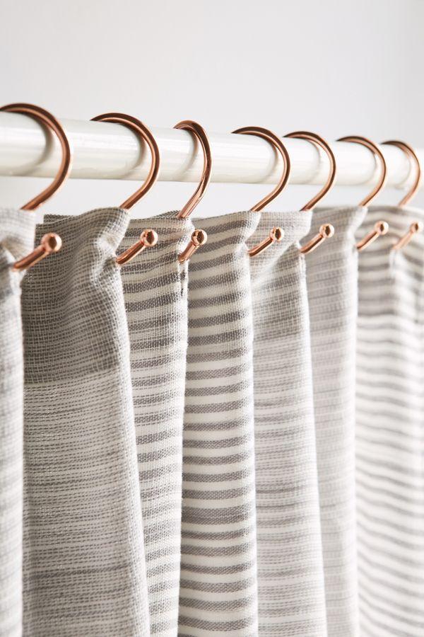 Copper Shower Curtain Hooks