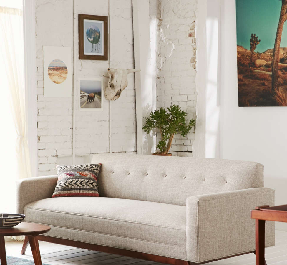Slide View: 1: Atomic Tufted Sofa
