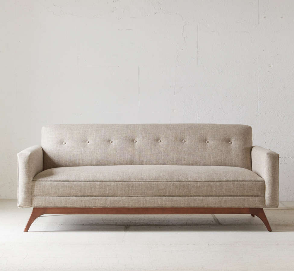 Slide View: 2: Atomic Tufted Sofa