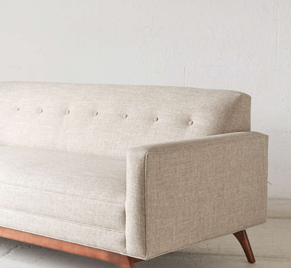 Slide View: 4: Atomic Tufted Sofa