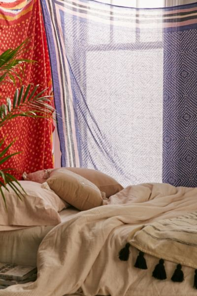 Magical Thinking Tie-Dye Bandhani Tapestry