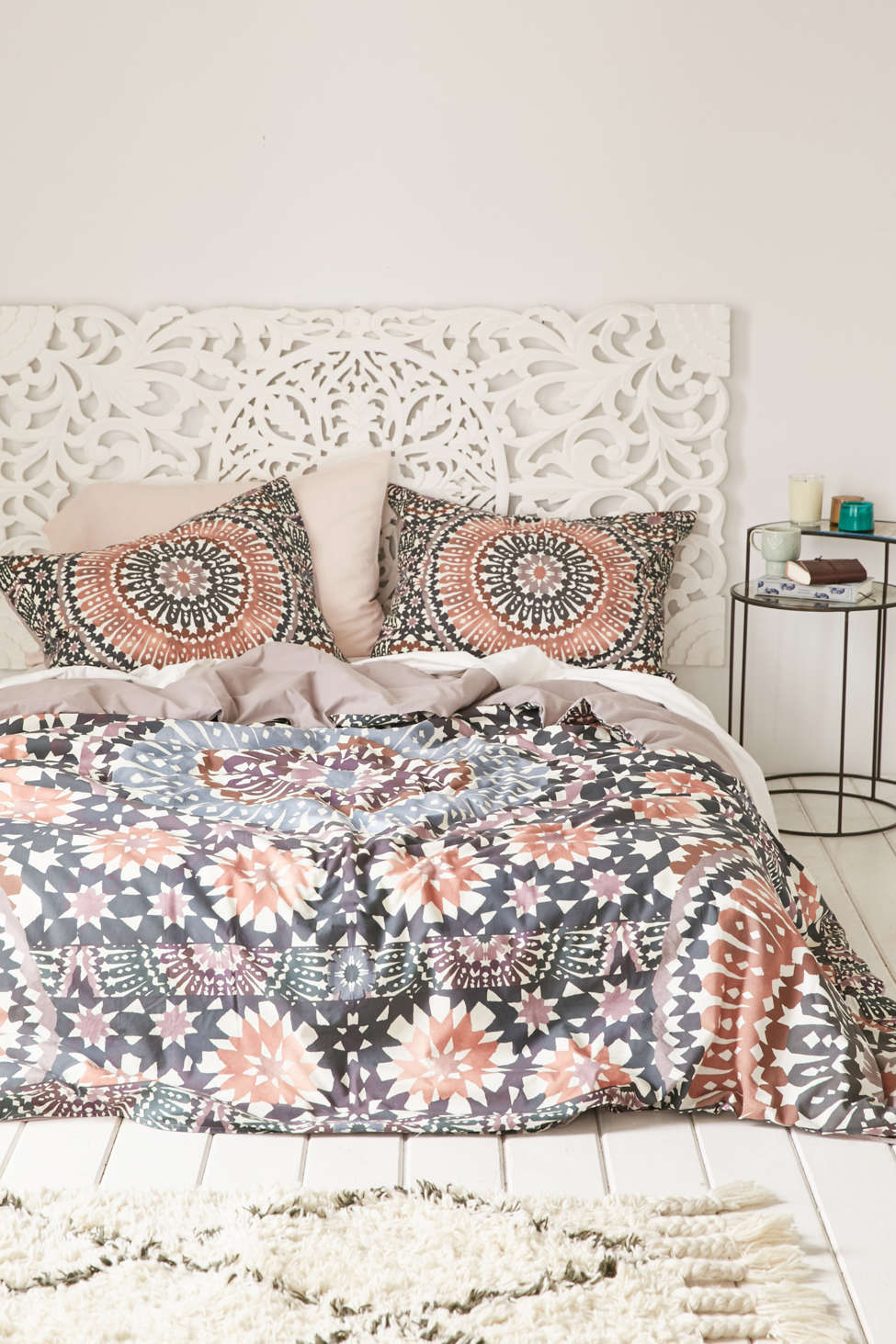 Magical Thinking Tile Medallion Duvet Cover | Urban Outfitters
