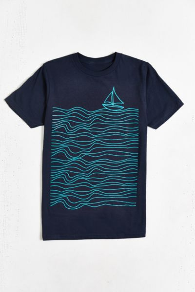 Design By Humans Sailing Tee