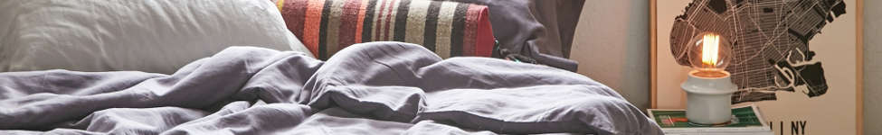 Thumbnail View 1: Assembly Home Linen Blend Duvet Cover - Charcoal