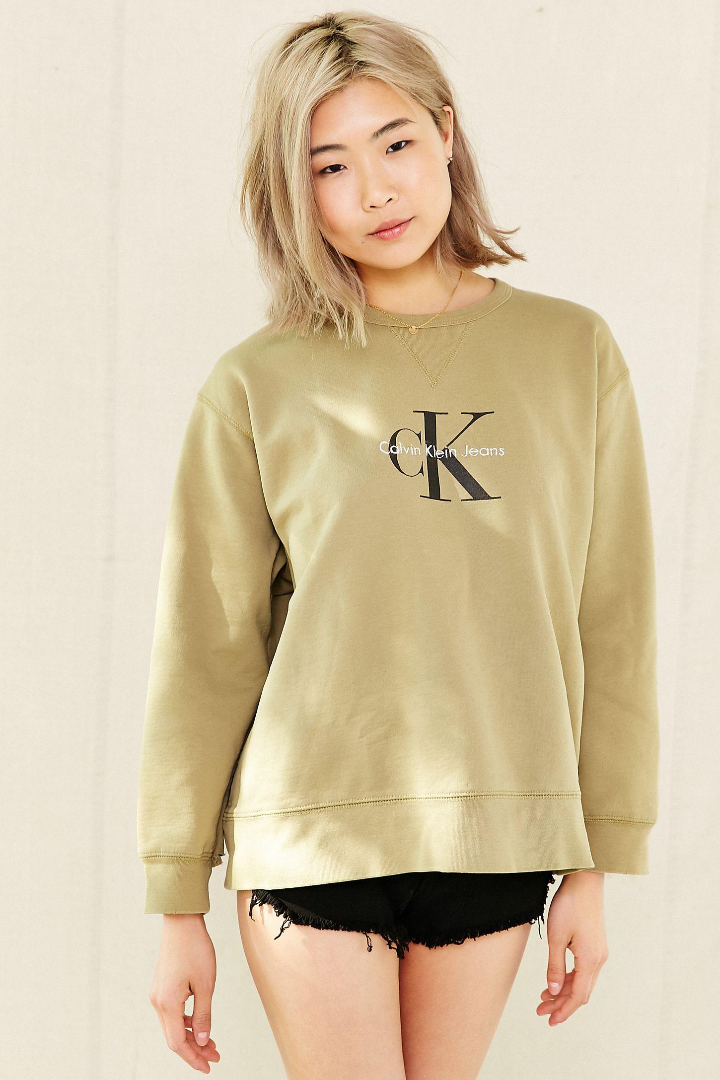 Vintage Calvin Klein Pullover Sweatshirt  9331cc278f