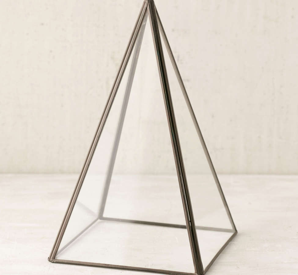 Slide View: 2: Pyramid Glass Cloche