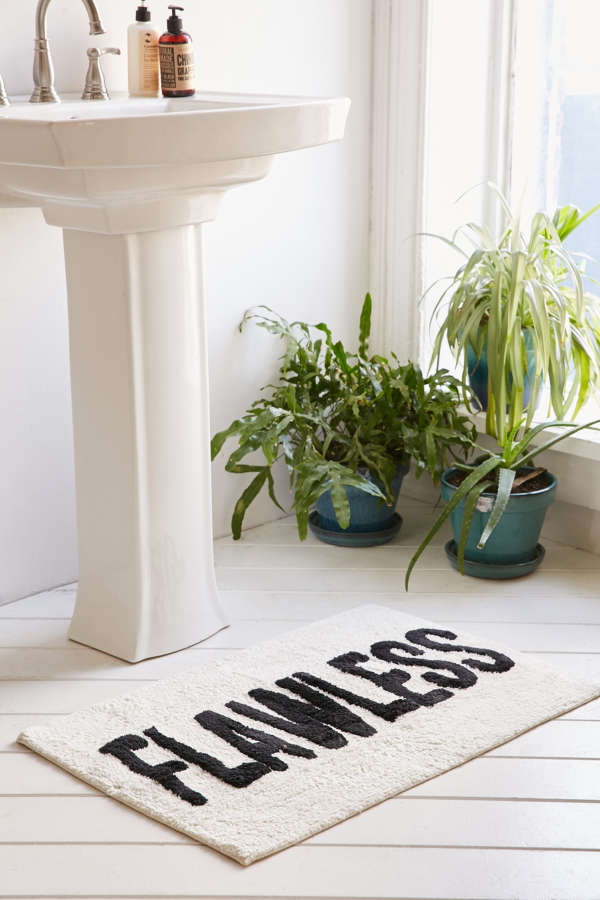 Flawless Bath Mat Urban Outfitters