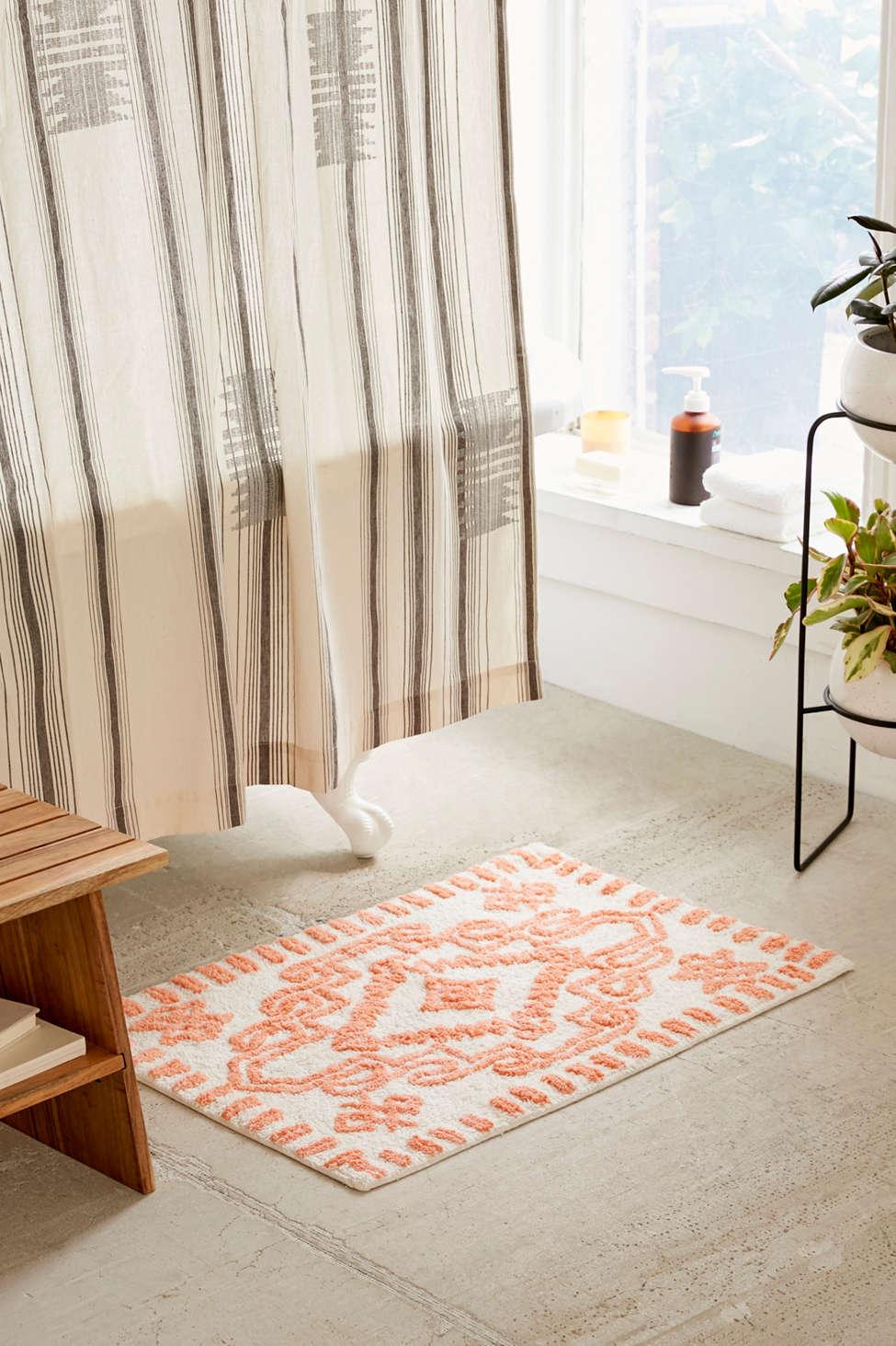 Global Style Bath Rugs From Safari And Coastal Plus