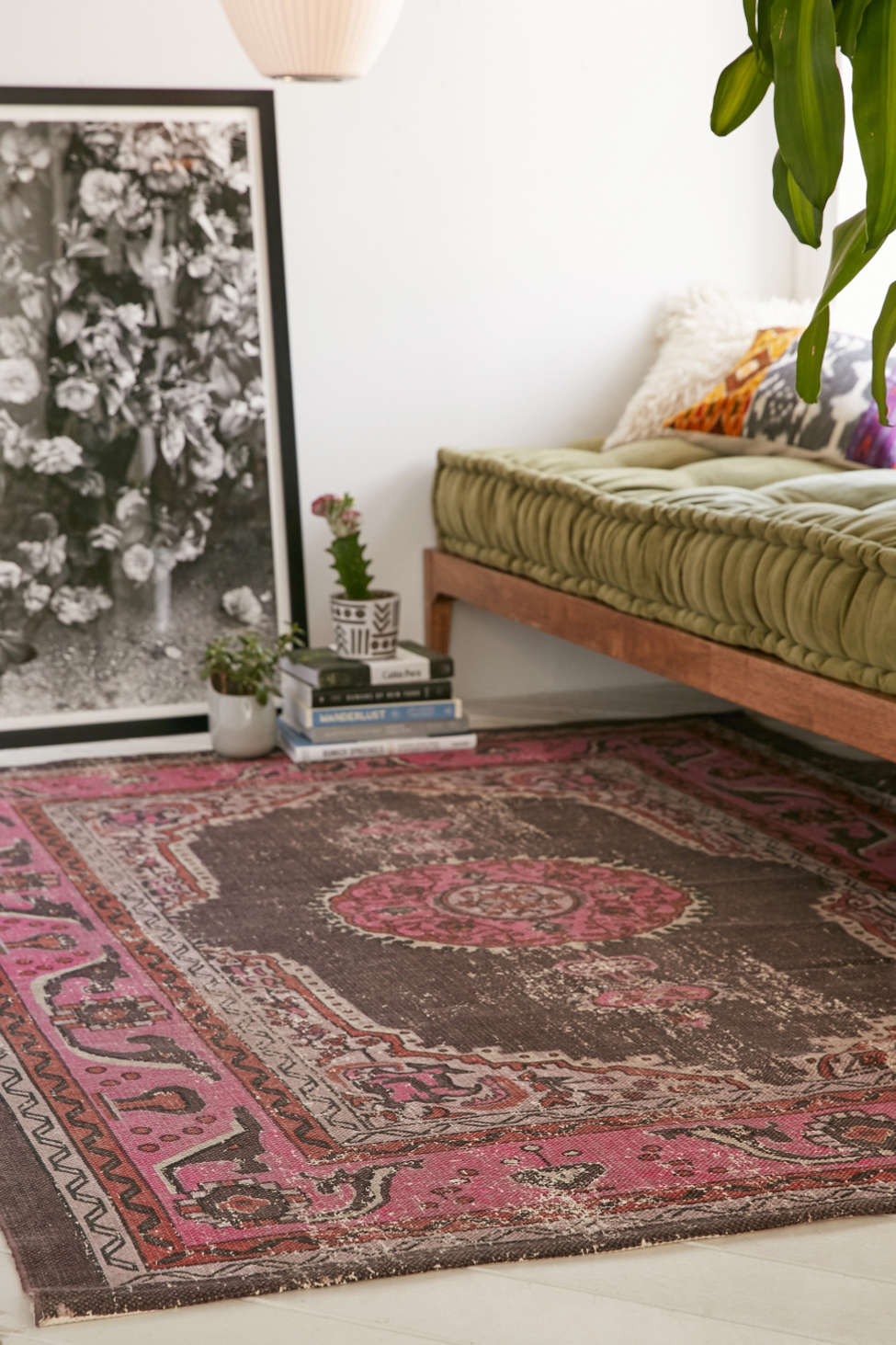 salma printed rug | urban outfitters