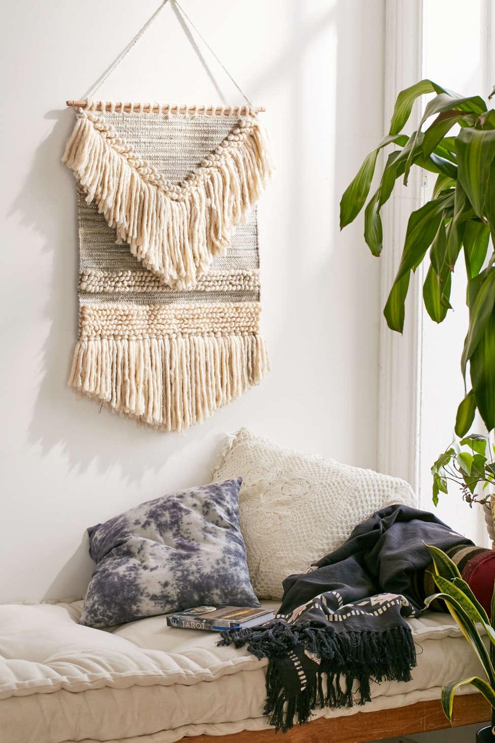 Slide View: 1: Magical Thinking Textured Shaga Wall Hanging