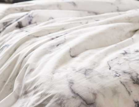 Slide View: 4: Assembly Home Marble Duvet Cover