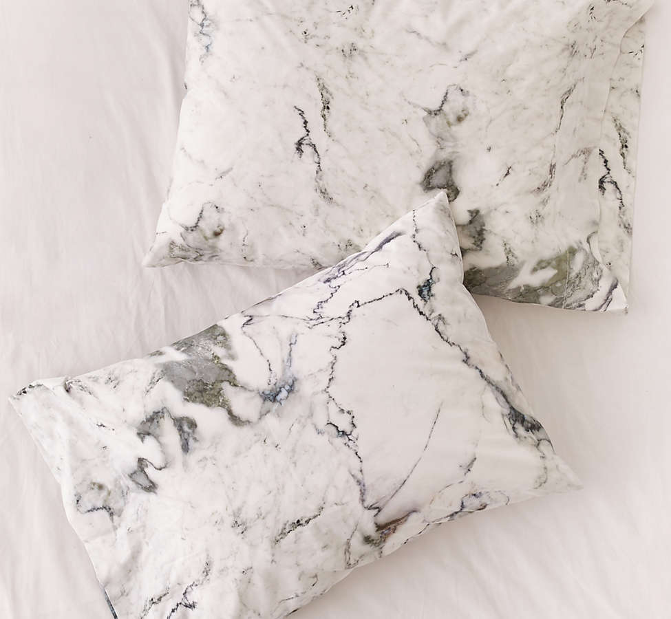 Slide View: 1: Assembly Home Marble Pillowcase Set
