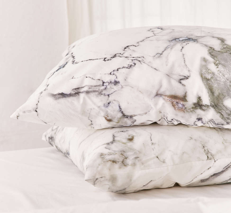Slide View: 2: Assembly Home Marble Pillowcase Set