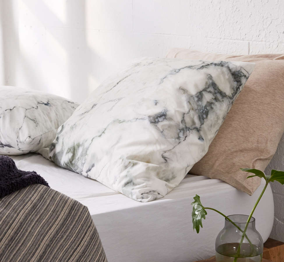 Slide View: 3: Assembly Home Marble Pillowcase Set