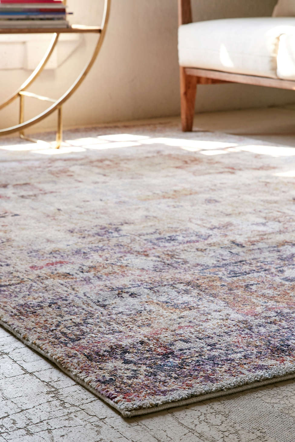 arabella worn tufted rug | urban outfitters