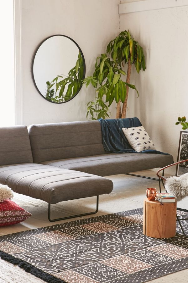 sectional sofa walmart sleepers tufted couch chair outfitters velvet urban sleeper