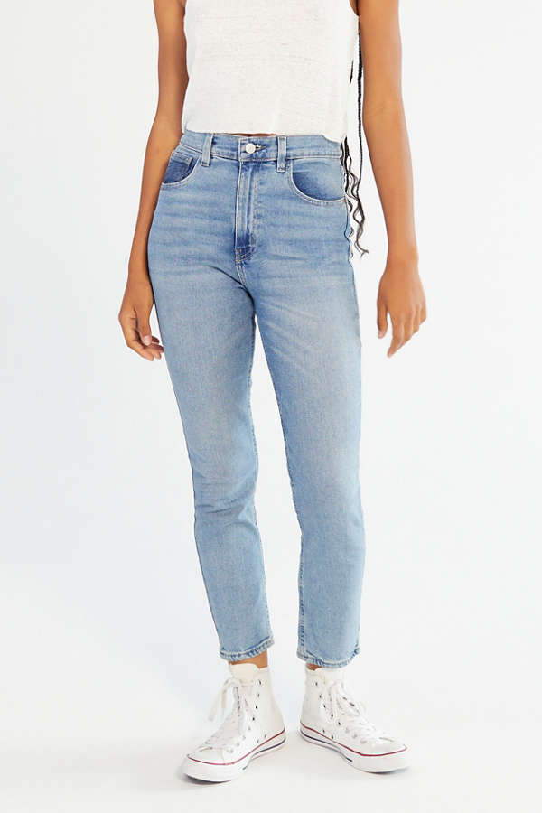 Slide View: 2: BDG Girlfriend High-Rise Jean - Light Wash - BDG Girlfriend High-Rise Jean - Light Wash Urban Outfitters
