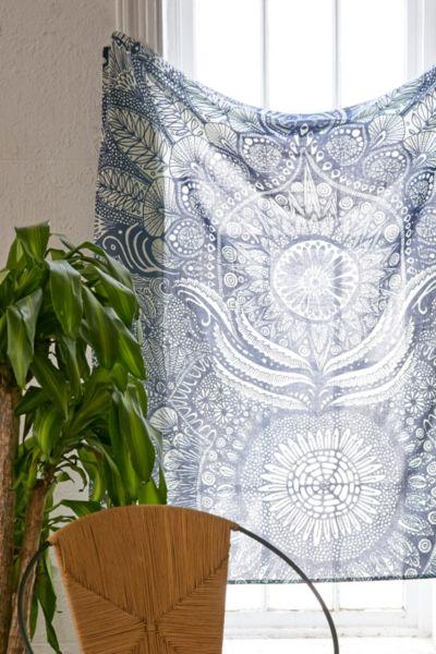 Yes Menu Mandala Tapestry
