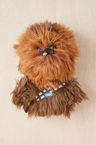 Mini Talking Chewie Plush Toy - Brown One Size at Urban Outfitters