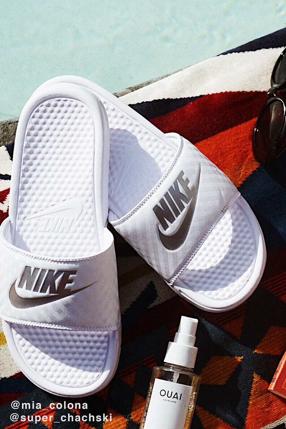 Nike Benassi JDI Slide   Urban Outfitters