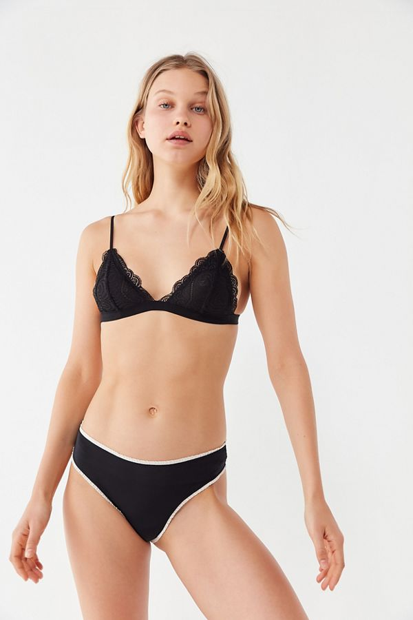 a138a1f07a8e9 Slide View  4  Out From Under Lace Triangle Bralette