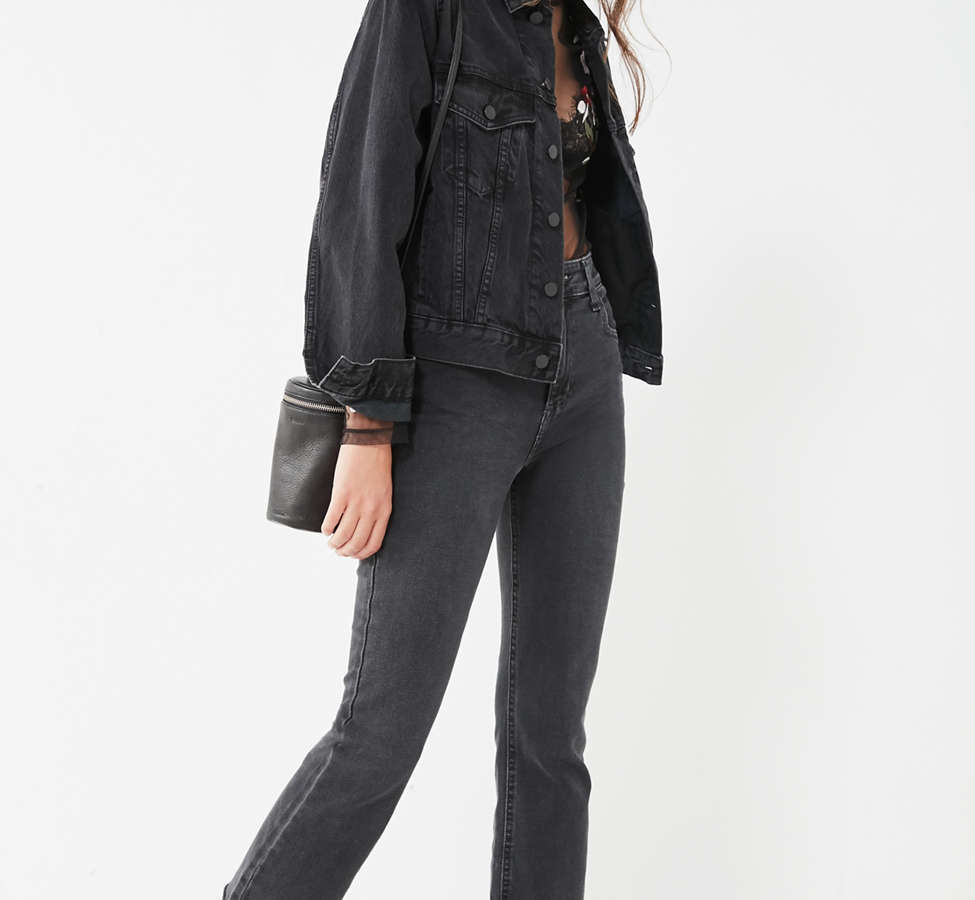 Slide View: 2: BDG Boyfriend Denim Trucker Jacket