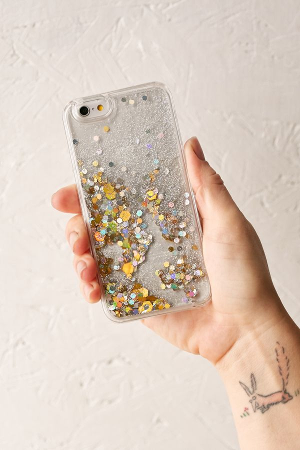 Glitter Time Iphone 66s Case Urban Outfitters
